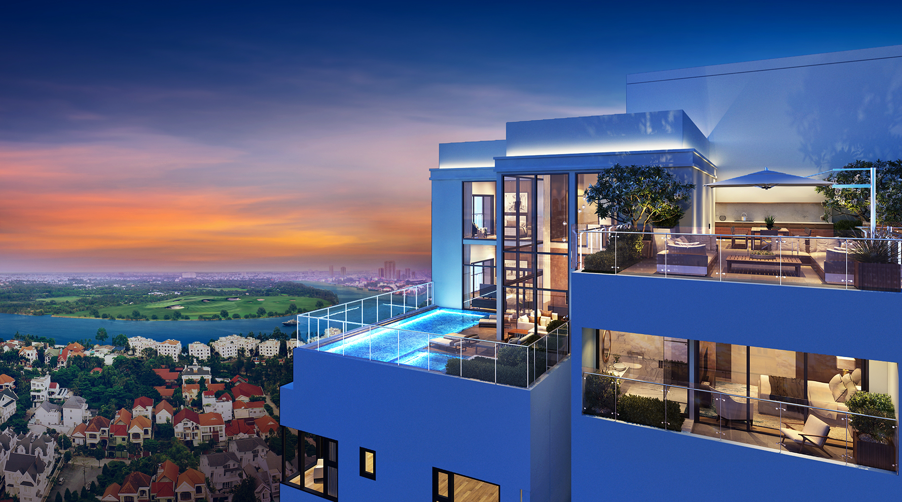 Penthouses for rent